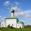 Pereslavl-zalessky, Danilov monastery of the Holy Trinity, the church of all Saints — Stock Photo #47722557