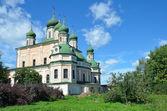Uspensky cathedral in Goritsky monastery in Pereslavl-Zalessky, Russia — Stock Photo