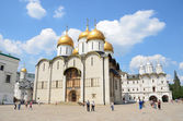 Kremlin in Moscow, Uspensky cathedral — Stock fotografie
