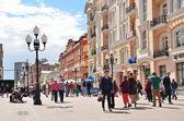 Moscow, Arbat street — Stock Photo