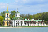 Moscou, kuskovo - o monumento da arquitetura — Fotografia Stock