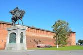 Kolomna Kremlin wall, Mthajlovskie gate — Stock Photo
