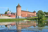 Kolomna Kremlin, Moscow region — Stock Photo