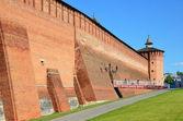 Kolomna Kremlmauer, Mthajlovskie Tor — Stockfoto