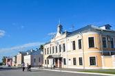 Lazhechnikov rua no centro histórico de kolomna, região de Moscovo — Fotografia Stock