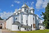 Saint Sophia Cathedral in Novgorod Kremlin — Stock Photo