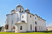 Novgorod, Sofiysky cathedral, Golden ring of Russia — Stock Photo
