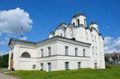 Novgorod, Yaroslav domstol, Nicholj-Dvorischensky domkyrka, Golden ring av Ryssland — Stockfoto