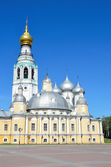 Kremlin in Vologda, Voskresensky cathedral, Golden ring of Russia — Stock Photo