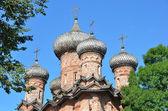 Trinity Church in Spirit monastery in Novgorod, Russia — Stock Photo