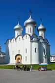 Kremlin in Vologda,  Saint Sofia  (Sofiysky) cathedral, Golden ring of Russia — Stock Photo