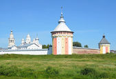 Russia, Spaso-Prilutsky monastery in Vologda — Stock Photo