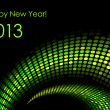 """Happy New Year """"snake"""" background (2013-year of the snake) — Stock Vector #11274158"""