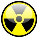 Vector radiation symbol — Stock Vector