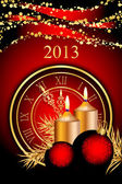 Vector 2013 New Year background — 图库矢量图片