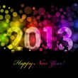Royalty-Free Stock Vector Image: Vector Happy New Year - 2013 colorful background