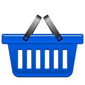 Vector illustration of shopping-cart — Vector de stock