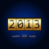 """Digital """"Happy New Year!"""" background — Stock Vector"""