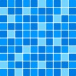 Vector blue tile wall — Stock Vector