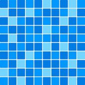 Vector blue tile wall — Stock Vector