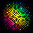 Colorful lights - vector abstract background — Stockvektor