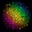 Royalty-Free Stock Imagen vectorial: Colorful lights - vector abstract background