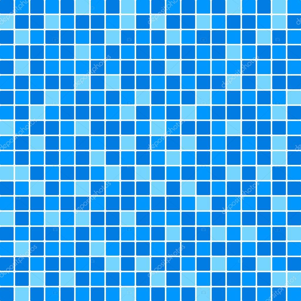 Azulejos Para Baño Azul:Parede de azulejo azul vector — Vetor de Stock © yuliaglam
