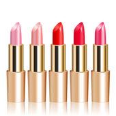 Vector illustration of lipsticks — Stock Vector