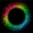 Colorful lights — Imagen vectorial
