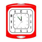 Vektor-illustration über alarm clock — Stockvektor