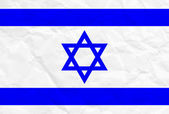 Vector illustration of Israel flag — Stockvektor