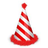 векторная иллюстрация колпачок день рождения — Cтоковый вектор