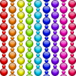 Stock Vector: Vector colorful beads