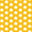 Vector honeycomb background — Stock Vector