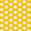 Vector honeycomb background — Stock Vector