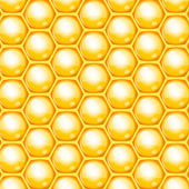 Vector honeycomb background — Cтоковый вектор