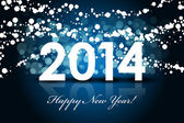 2014 - Happy New Year background — Stock Vector
