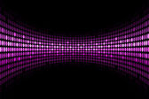 Vector black background with purple lights with space for your t — Stock Vector