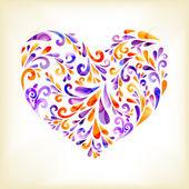 Herz — Stockvektor