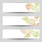 Autumn banners — Vetorial Stock