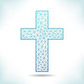 Geometric cross. — ストックベクタ