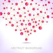 Molecule background. — Stock Vector