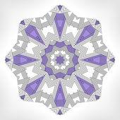 Geometric mandala. — Stock Vector