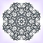 抽象曼荼罗. — 图库矢量图片