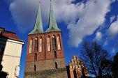 Najstarszy kościół w berlinie — Zdjęcie stockowe