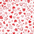 Stock Vector: Red hearts