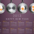 New year 2013 Calendar — Stock Photo #13955306
