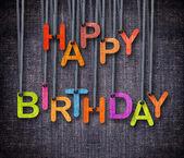 Feliz aniversário — Fotografia Stock