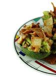 Healthy Avocado Salad — Stock Photo