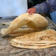 Arabic bread — Stock Photo